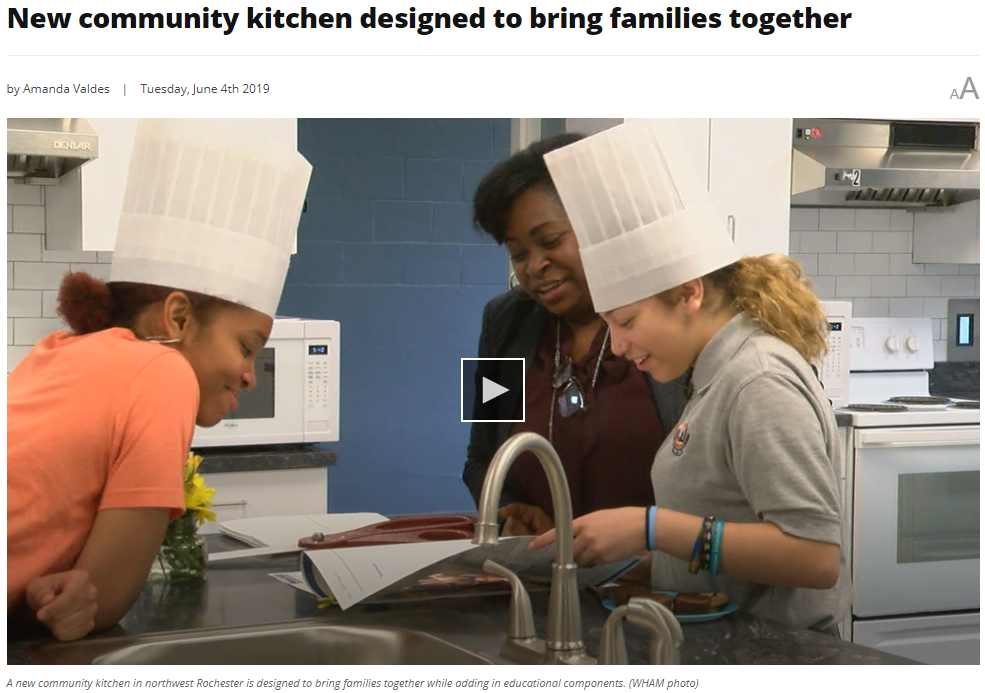 Community Kitchen on WHAM News